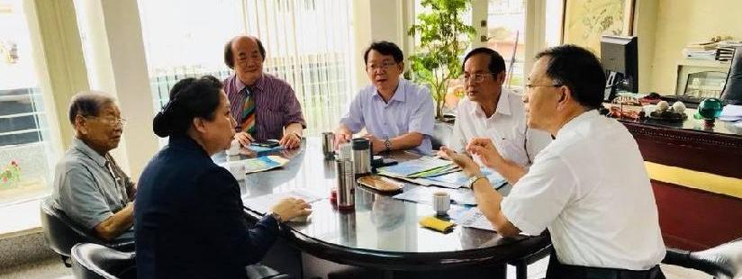 長照機構人才培養,關鍵在教育!蔡炳坤執行長與會研商產學合作!