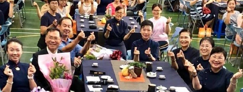 蔡炳坤執行長前往歷經百年歲月淬鍊的慈濟互動學校~彰化民生國小敬師茶會分享。(20180926)