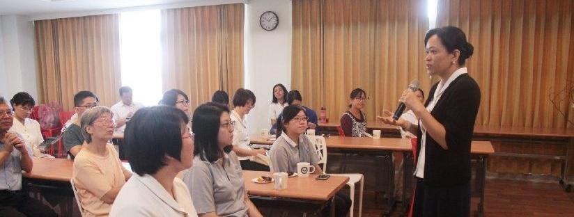 慈濟大學天空學院首辦課程體驗暨師生見面會。(20180929)
