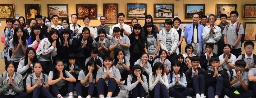 慈濟科技大學與印度臺北協會共同舉辦印度佛教日系列展演,慈科大師生一窺異國文化風采。(20181015)