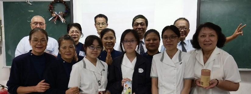 慈濟科技大學師生見苦知福,援助印尼蘇拉威西居民,響應募心募愛。(20181024)