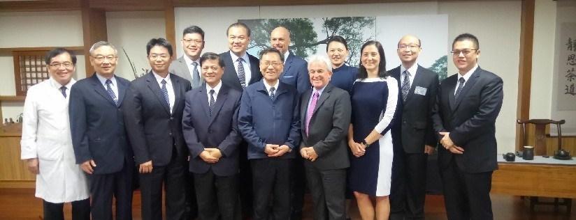 蔡炳坤執行長參與慈濟大學醫學院與加拿大Humber College 健康科學院中醫學生交流合作方案討論。(20181114)