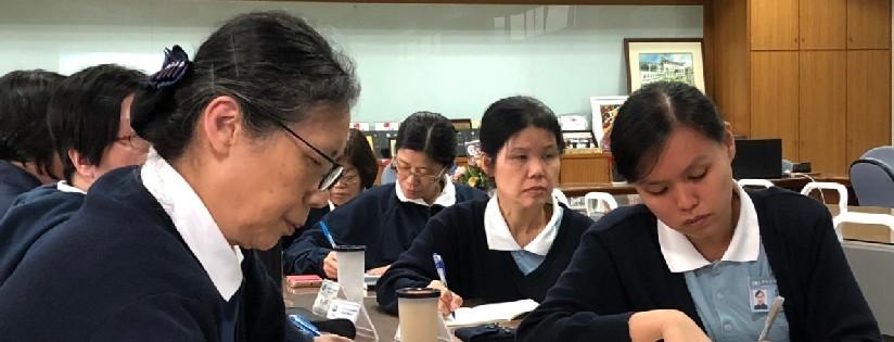 2018年吉隆坡慈濟國際學校儲備教師精進研習開跑~蔡炳坤執行長與會分享慈濟教育的系統與特色課程。(20181215)
