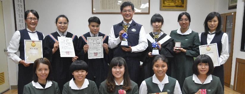 2018香港、韓國發明展,慈濟科技大學榮獲三金二銀三特別獎。(20181214)