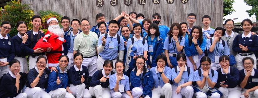 慈濟科技大學舉辦人文營隊,馬來西亞高中生提前體驗大學生活。(20181226)