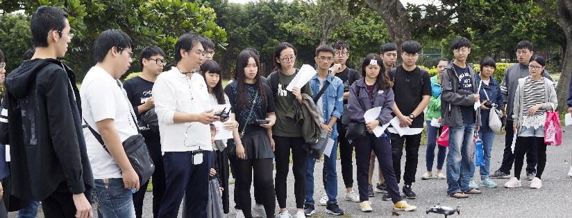慈濟科技大學「航拍實務」課程,無人機前景看好。(20190110)