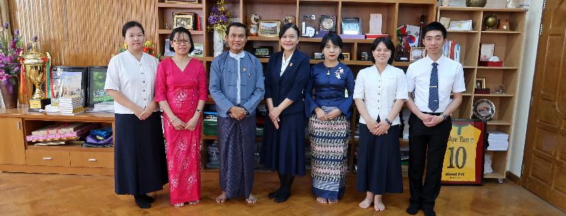 慈濟大學走訪緬甸,開發學術研究機構能力。(20190211)