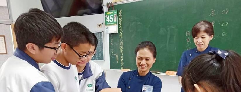 臺南慈濟高中發起募心募愛行動,全校師生為莫三比克、辛巴威及馬拉威等地送暖。(20190404)