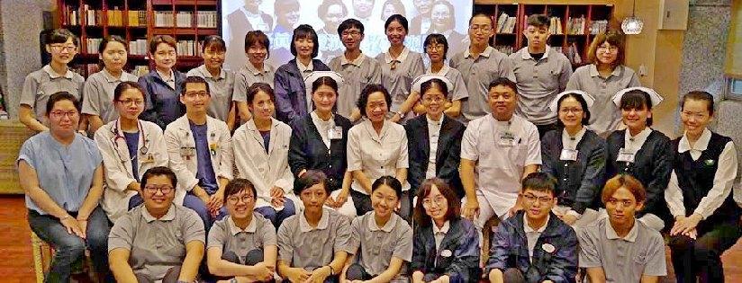 慈濟大學護理學系情境模擬畢業考,重症照護展專業。(20190528)