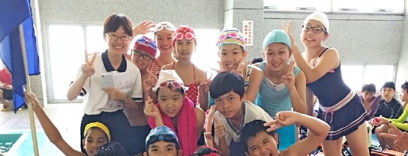 慈大附中舉辦水上運動會,師生迎接夏天的到來。 (20190621)