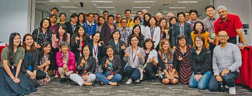 慈濟大學受邀參加第七屆亞洲服務學習聯盟(SLAN)年會,分享服務學習業務。(20190618)
