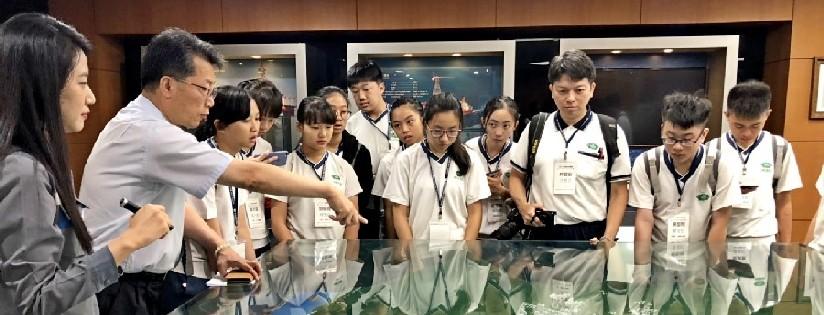 臺南慈濟高中與花蓮慈大附中,一同至韓國釜山學習韓國文化及空拍科技。(20190702)