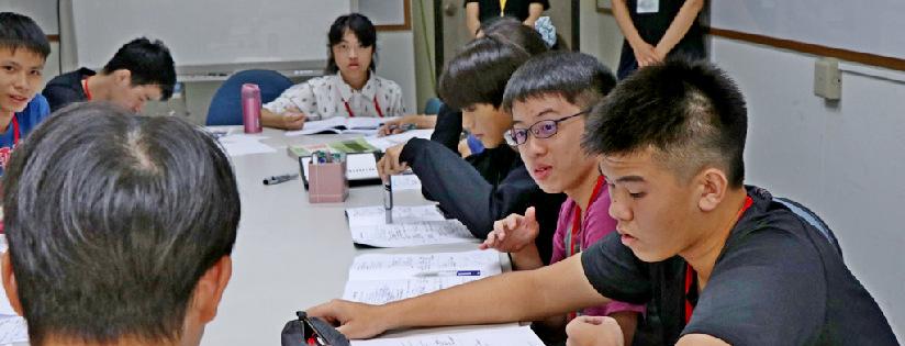 慈濟大學醫學營,吸引120位高中生報名參加。(20190706)