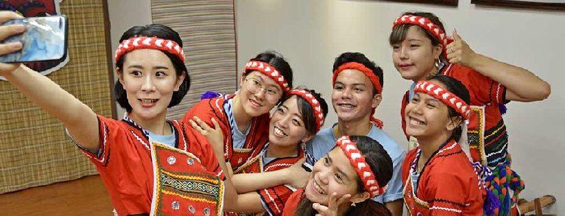 慈科大跨文化課程,吸引4國25師生首度來台。(20190816)