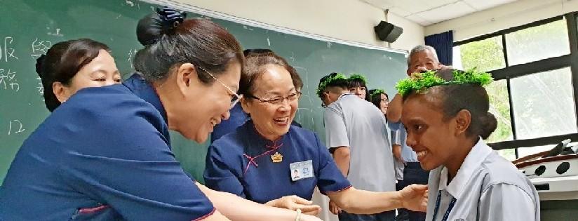 慈濟大學舉辦新生生活營開營典禮,校長勉勵孩子把握時間、珍惜人與人之間。(20190904)