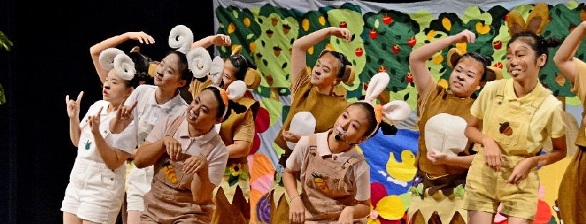 慈科大「慈悲的孔雀」兒童劇公演,獲熱烈迴響。(20190910)