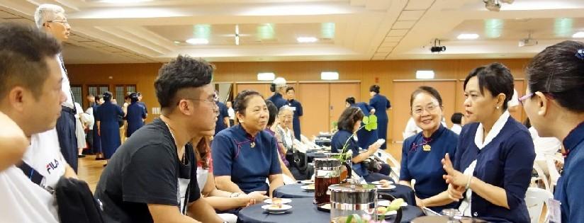 慈大新生座談,助新生擬定大學學涯。(20190831)