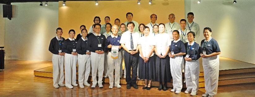 慈大辦理2019越南幸福企業營,學員發願走入慈濟。(20191001)