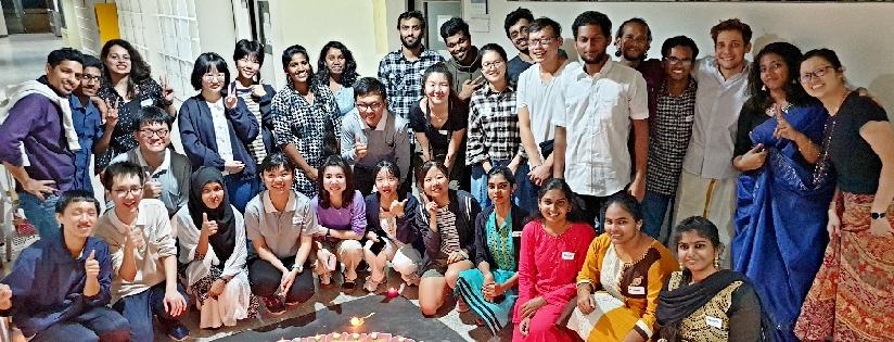 慈大師生認識印度文化~英美系、國際處及英語中心邀請印度學生舉辦排燈節活動。 (20191027)