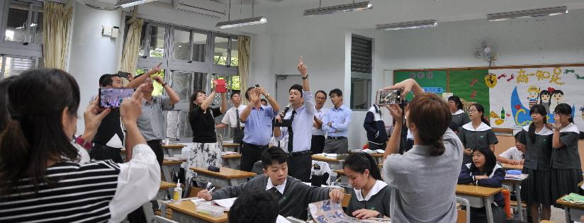 慈大附中舉辦花蓮市校長聯席會議,對於108新課綱的思維進行交流。(20191029)