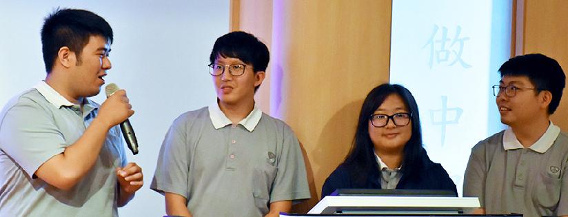 慈濟大學教育傳播學院舉辦院週會《世界和你想得不一樣》,師生暢談暑期參與花蓮文化影像紀錄活動及國內外志工服務心得。(20191014)