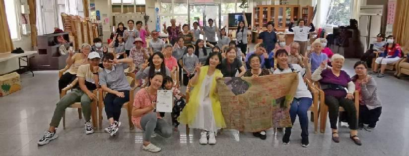 慈濟大學深耕社區,讓學子關懷長者學習照護。(20200624)