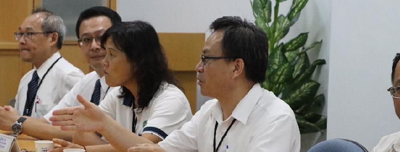 慈大師長訪杏輝醫藥集團,促雙方更密切合作。(20200713)