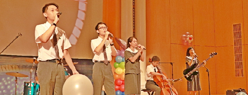臺南慈中多元文化齊唱頌,樂讀青春好風景。(20200905)