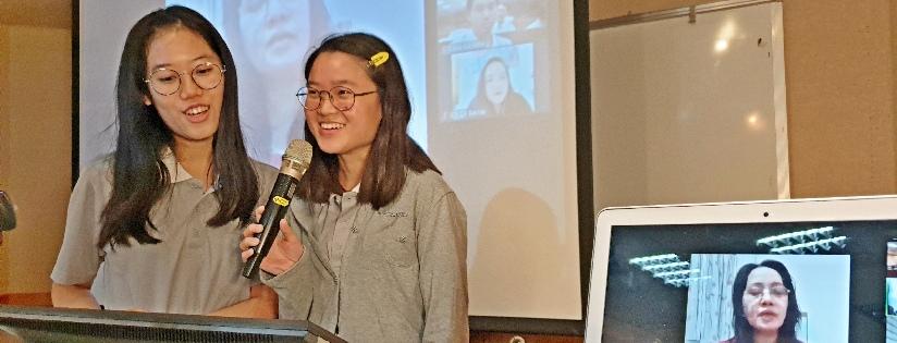 新南向不停步~慈大與菲律賓學生線上華語教學。(20201026)